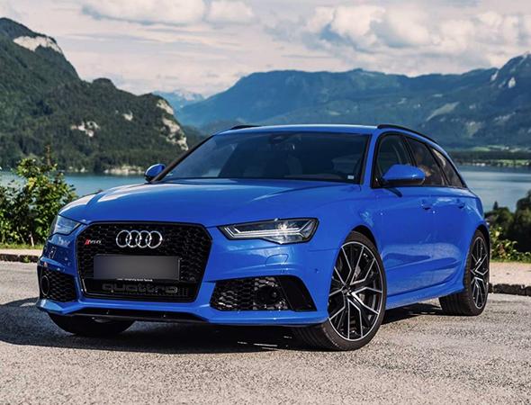 Новый Audi RS6