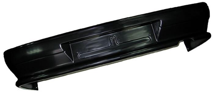 Черный бампер