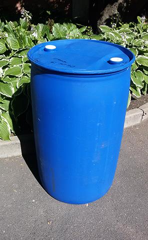 Пластиковая бочка на 200 литров