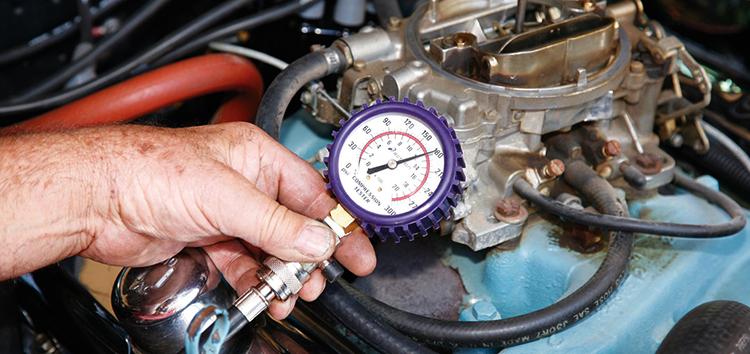 Измерение компрессии в двигателе