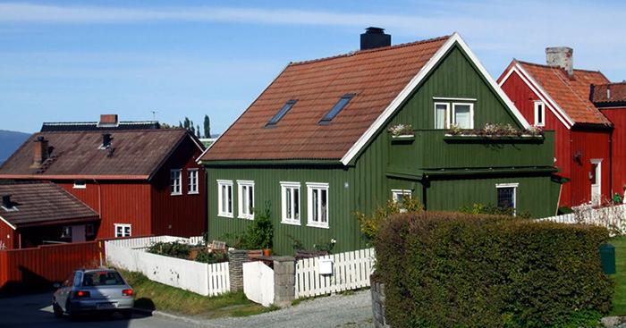 Красивый домик в Норвегии