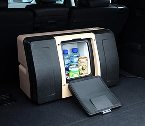 Современный автомобильный холодильник