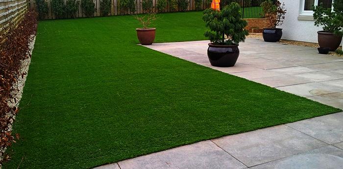 Новый искусственный газон