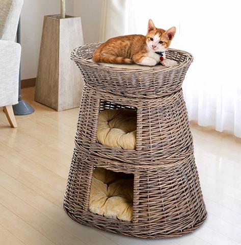 Красивый домик для кошки