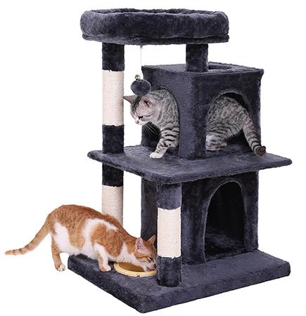 Домик для двух кошек