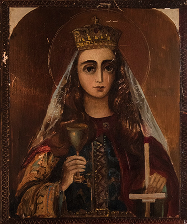 Образ великомученицы Варвары