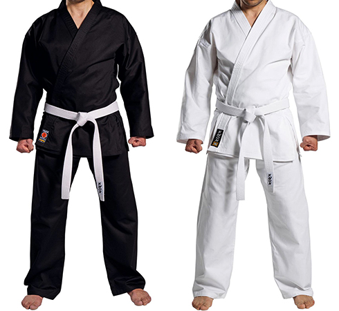 Черный и белый кимоно
