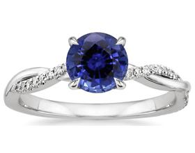 Сколько в среднем стоит кольцо с сапфиром?