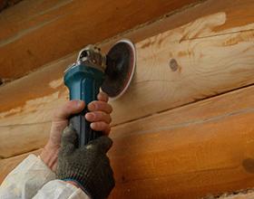 Сколько стоит шлифовка деревянного дома?