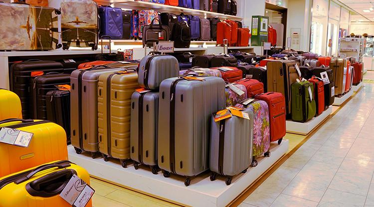 Выбор чемоданов