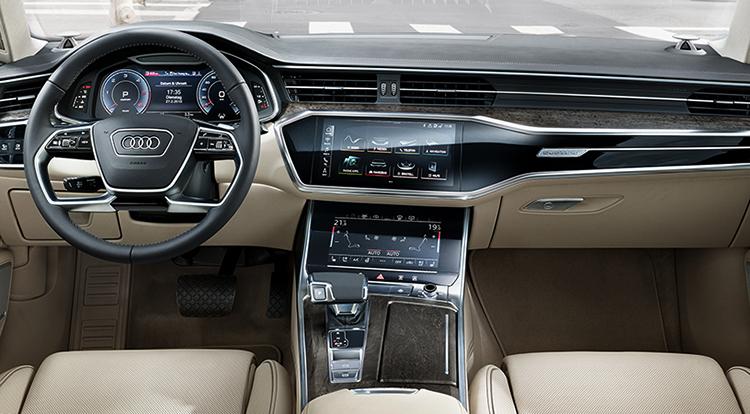 Интерьер Audi A6