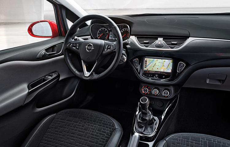 Салон Opel Corsa