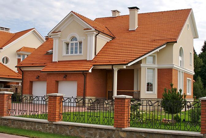 Элитный дом в пригороде