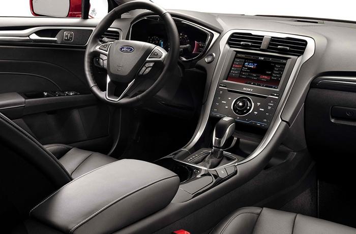 Салон Ford Fusion