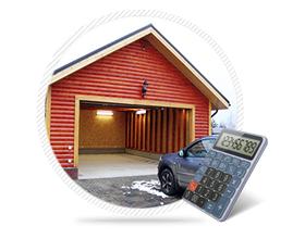 Во сколько в среднем обойдется оценка гаража
