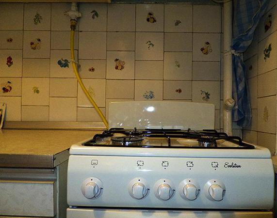 Подключенная плита