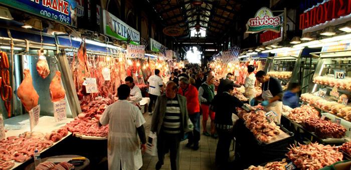 Рынок в Греции