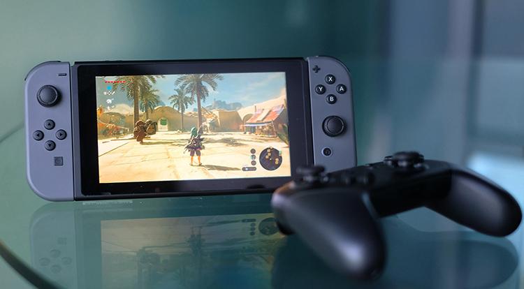 Игра в Nintendo Switch