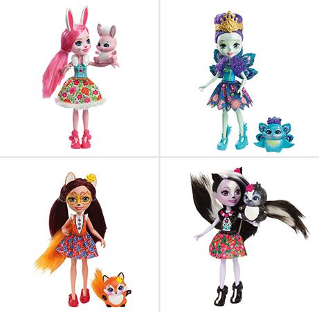 Разные куклы Enchantimals
