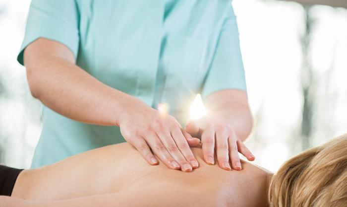 Проведение мануального массажа