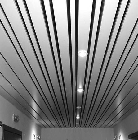 Новый реечный потолок