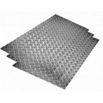 Сколько в среднем стоит рифленый алюминиевый лист?