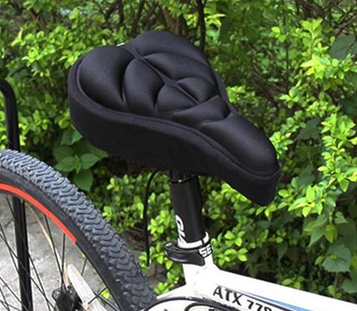 Современная сидушка на велосипед