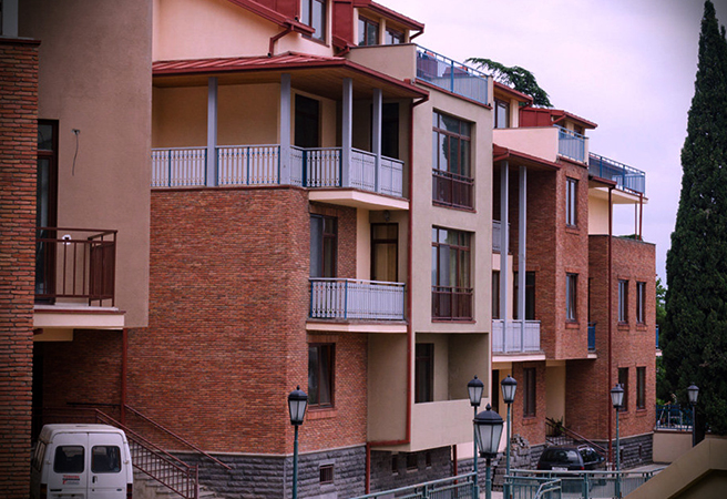 Новый дом в Тбилиси