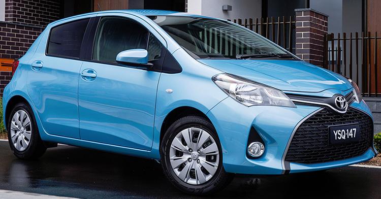 Toyota Yaris 3 поколения