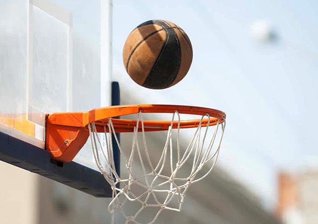 Использование баскетбольного кольца