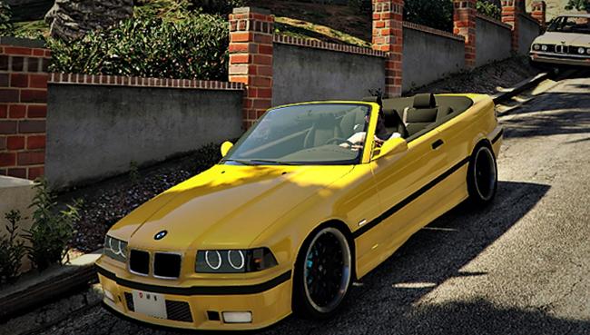 Спортивная версия BMW E36