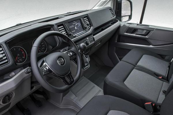 Салон Volkswagen Crafter
