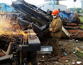 Сколько стоит демонтаж металлоконструкций (за тонну)