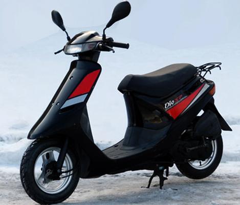 Новая Honda Dio