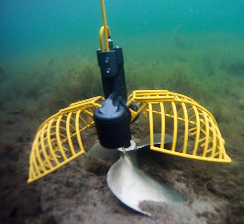 Работа подводной камеры