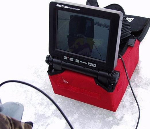 Работа современной подводной камеры