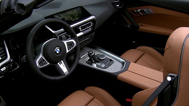 Салон BMW Z4