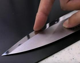 Сколько в среднем стоит заточить нож?