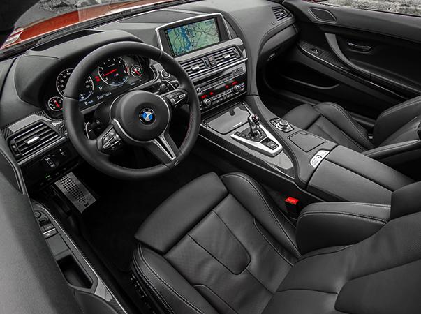 Салон BMW M6