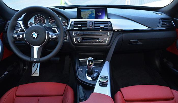 Салон BMW M3
