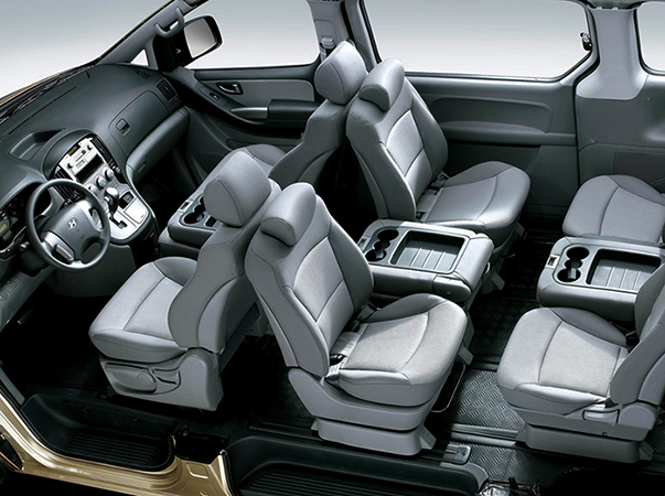 Салон Hyundai Starex