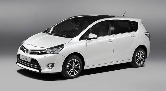 Новый Toyota Verso