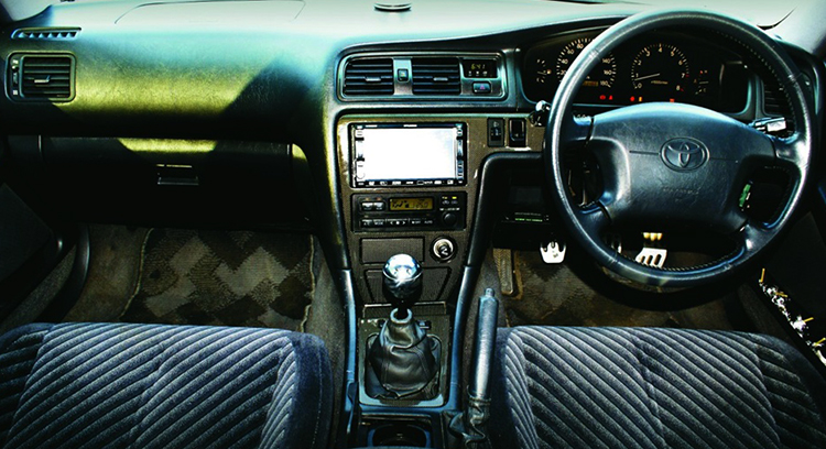 Салон Toyota Chaser