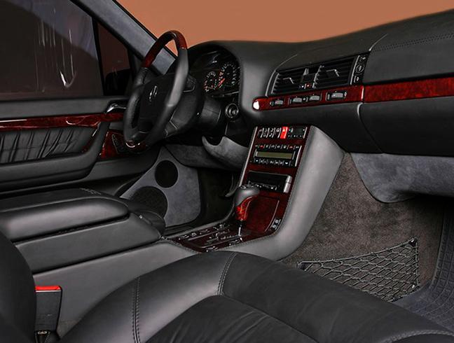 Салон Mercedes-Benz W140