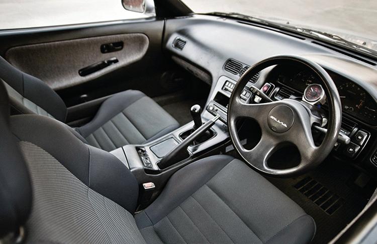 Салон Nissan Silvia