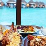 Сколько в среднем стоит еда на Мальдивах