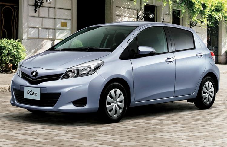 Toyota Vitz 3 поколения