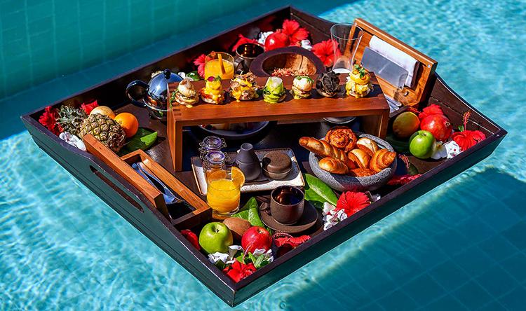 Завтрак на Мальдивах