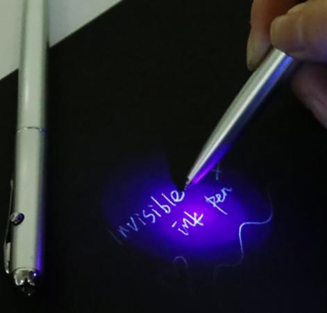 Использование невидимой ручки
