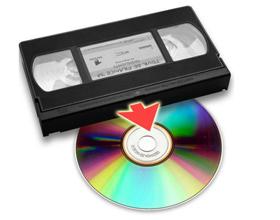 Сколько стоит оцифровать видеокассету на диск?